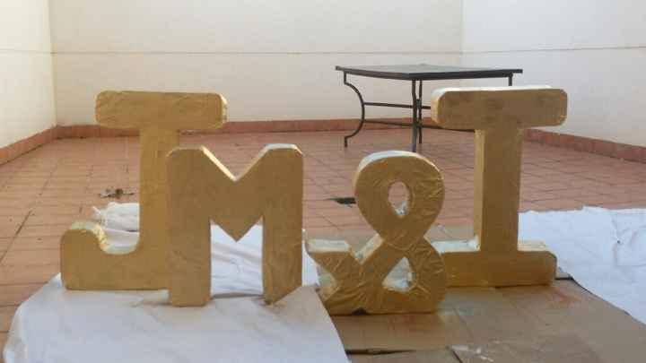 Nuestras iniciales!! - 1