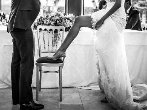 No a las ligas en las bodas 1