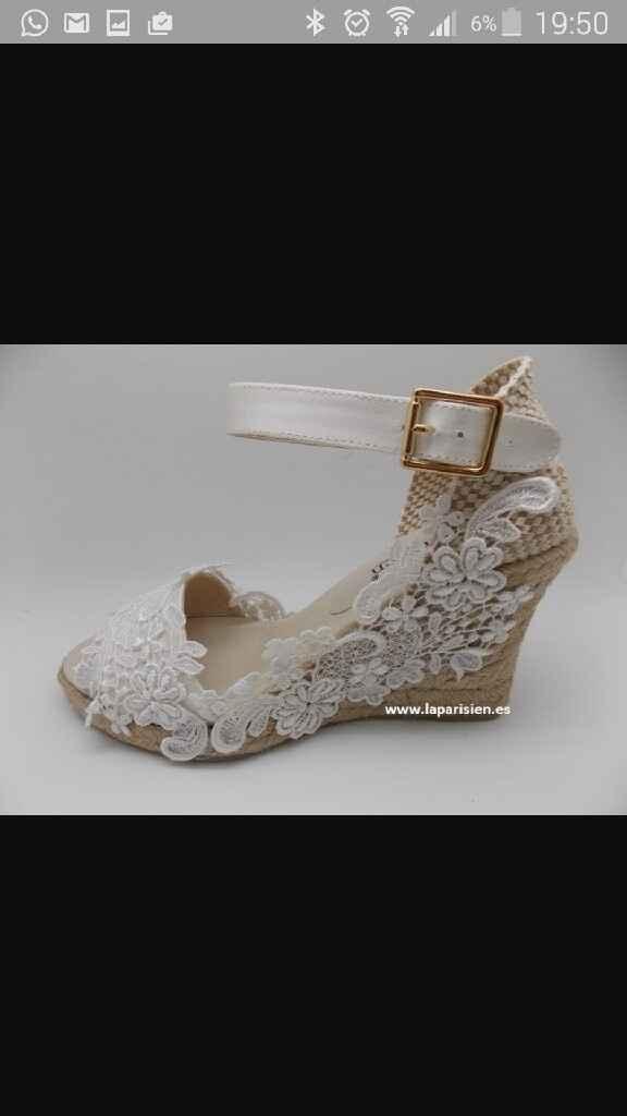 Zapatos de cuña!. - 1