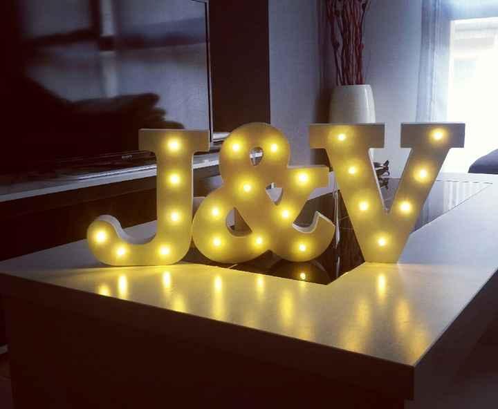 Letras luminosas pequeñas - 1
