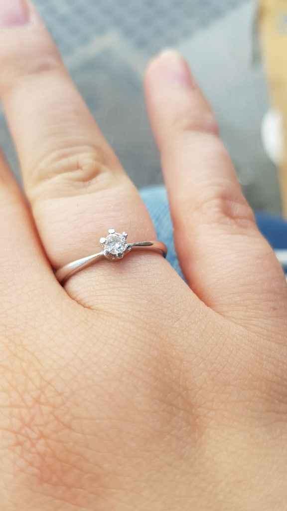 ¡Enséñanos tu anillo de pedida! 💍 - 1