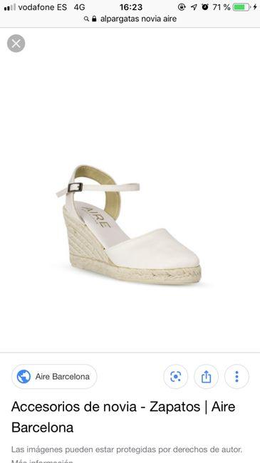 Zapatos cómodos boda 2
