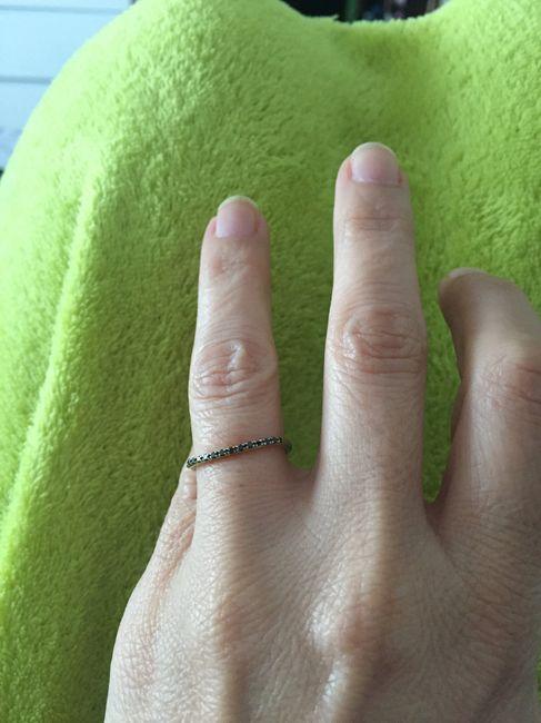 ¿Llevarás el anillo de pedida el día B? 💍 2