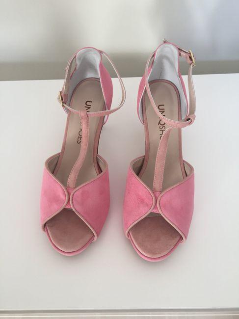 Zapatos novia en color 3