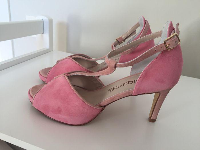 Zapatos novia en color 4
