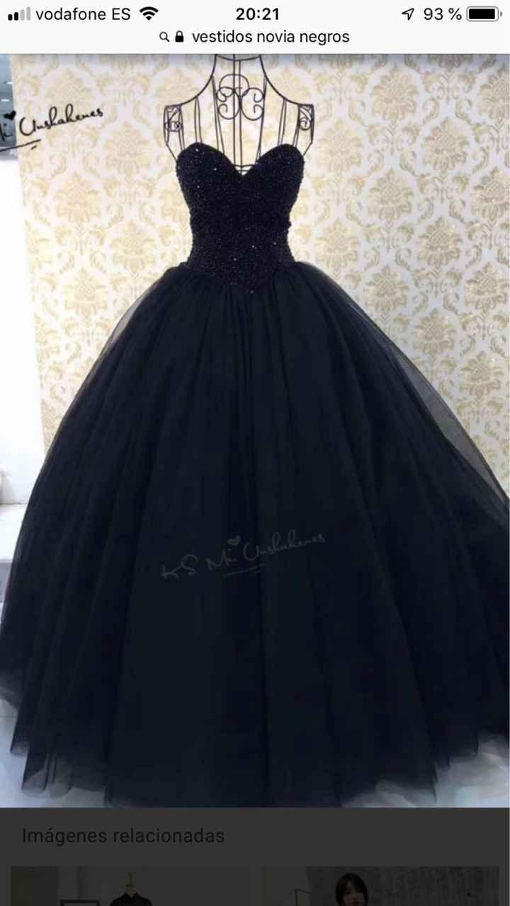 Vestido de novia de color...? - 1