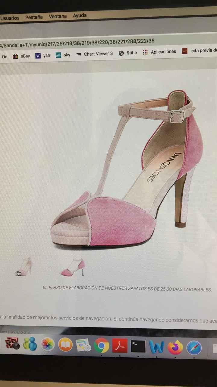Zapatos de novia - Parte 3 ¿qué color os gusta para el día B? - 1