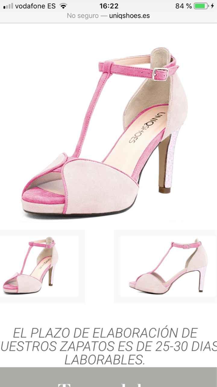 Zapatos de novia - Parte 3 ¿qué color os gusta para el día B? - 2