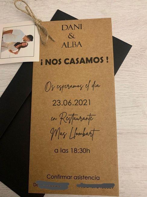 Mis invitaciones ❤️🥰 2