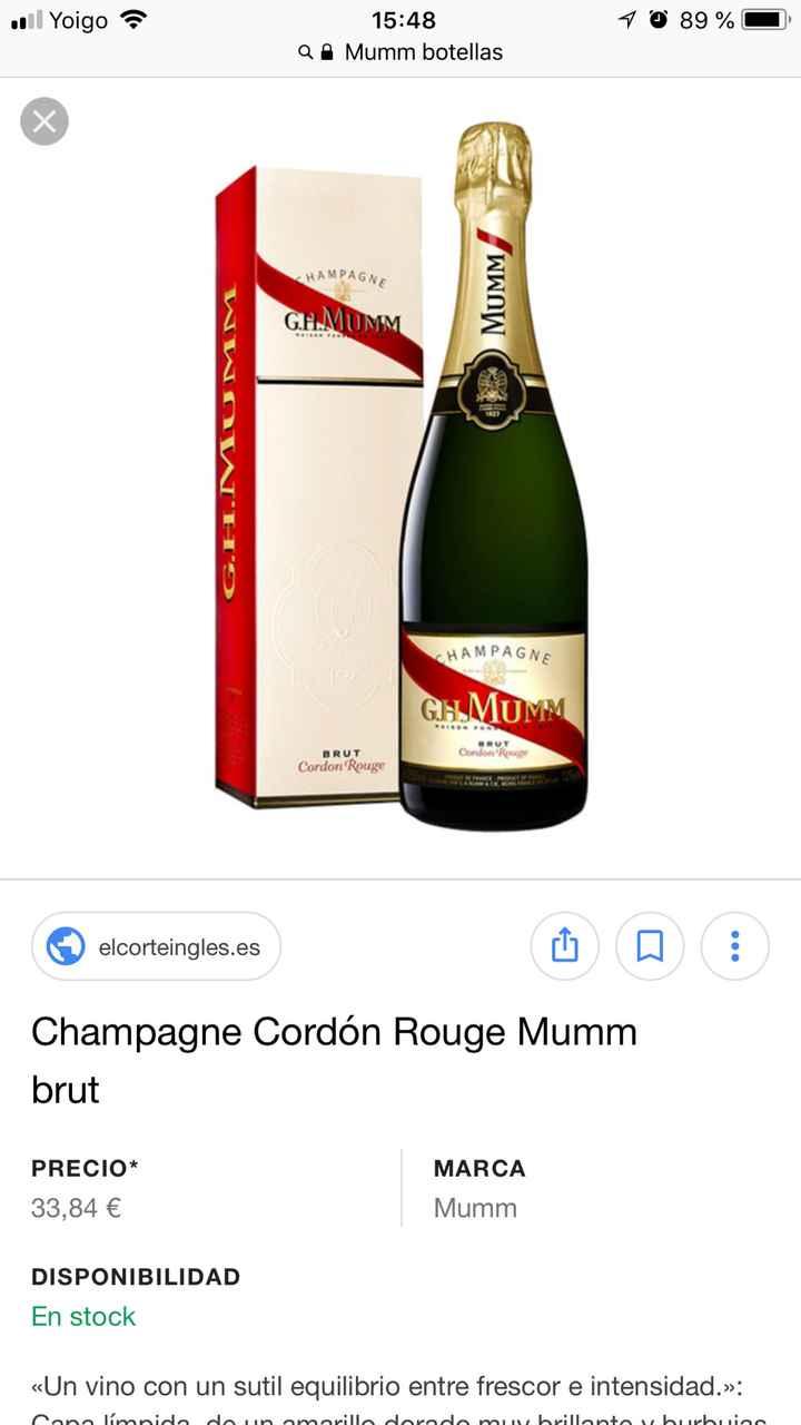 Ya me ha llegado el Champagne - 1