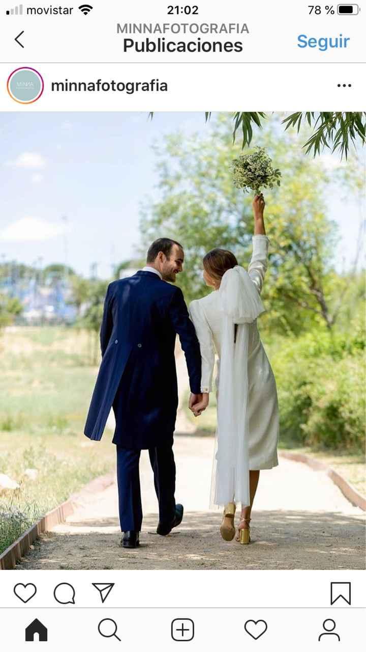 Vestido boda civil - 1