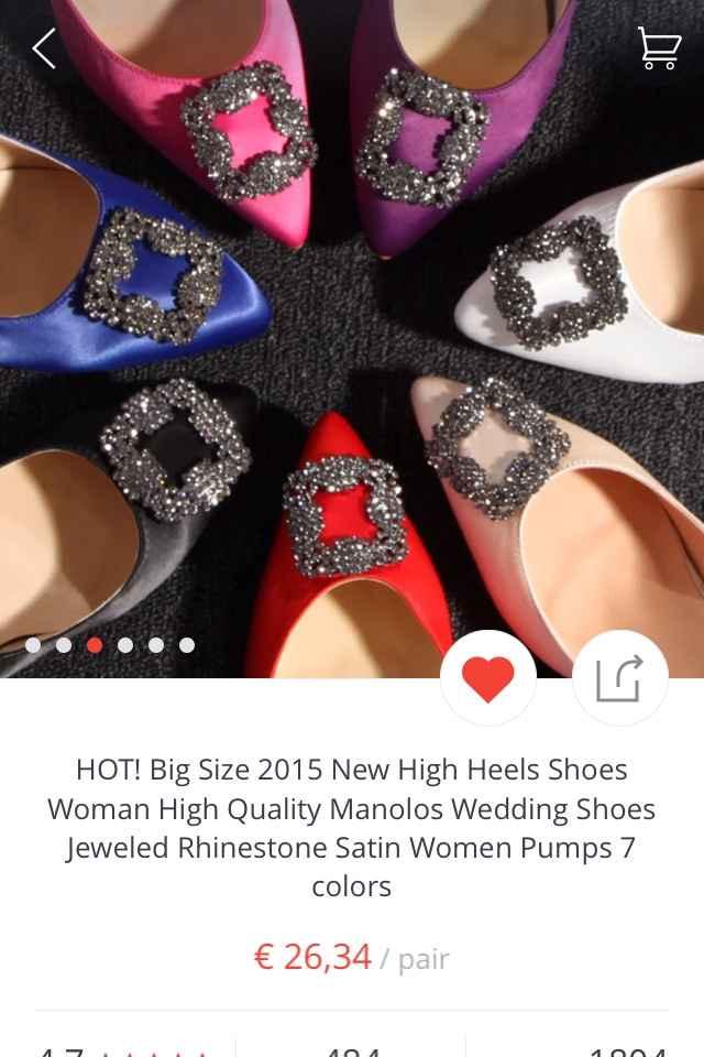 Zapatos de novia aliexpress - 1