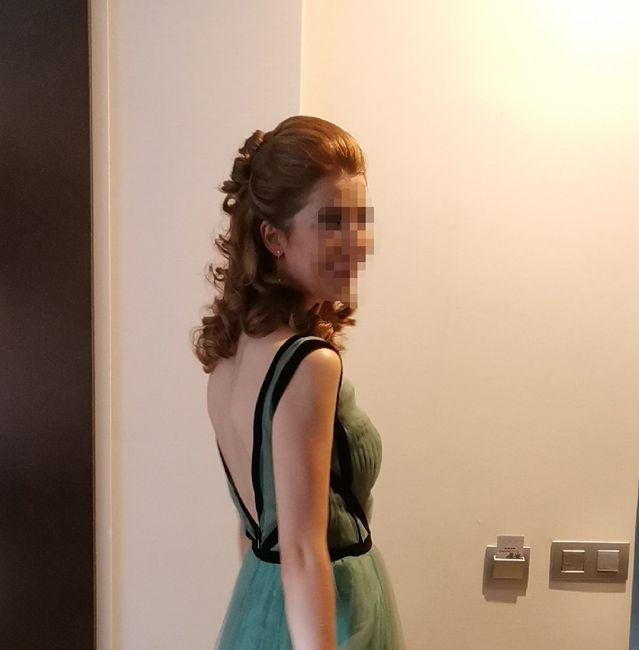 ¿Cómo es la espalda de tu vestido? 5