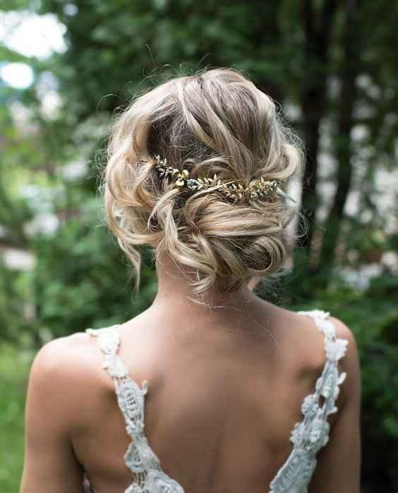Qué peinado con vestido sirena ? - 1