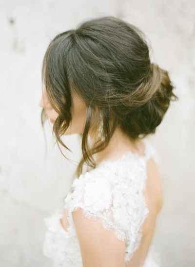 Qué peinado con vestido sirena ? - 2