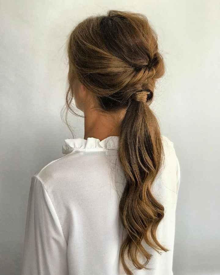 Qué peinado con vestido sirena ? - 3