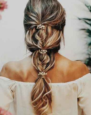Qué peinado con vestido sirena ? - 4