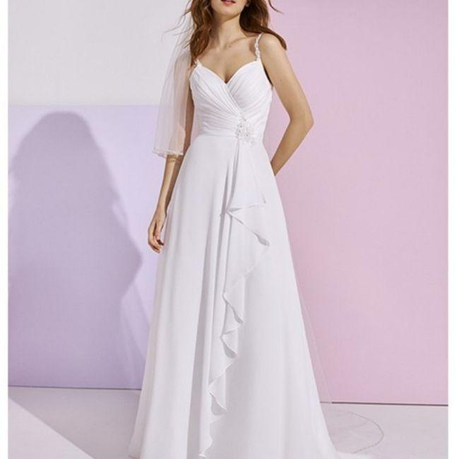 ¿Vuestro vestido es de corte 👸🏼 o de corte 🧜♀️? 2