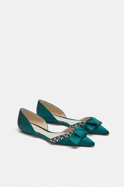 Zapato plano color 1
