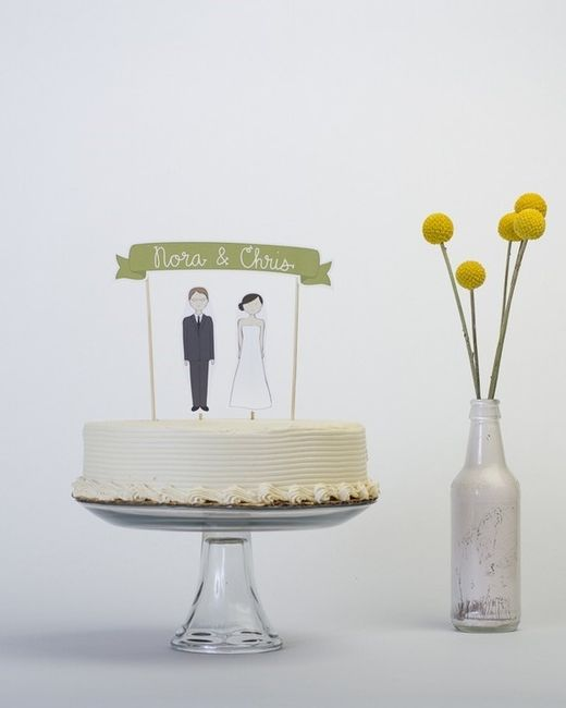 Cake toppers 1