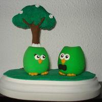Nuestros muñecos de tarta