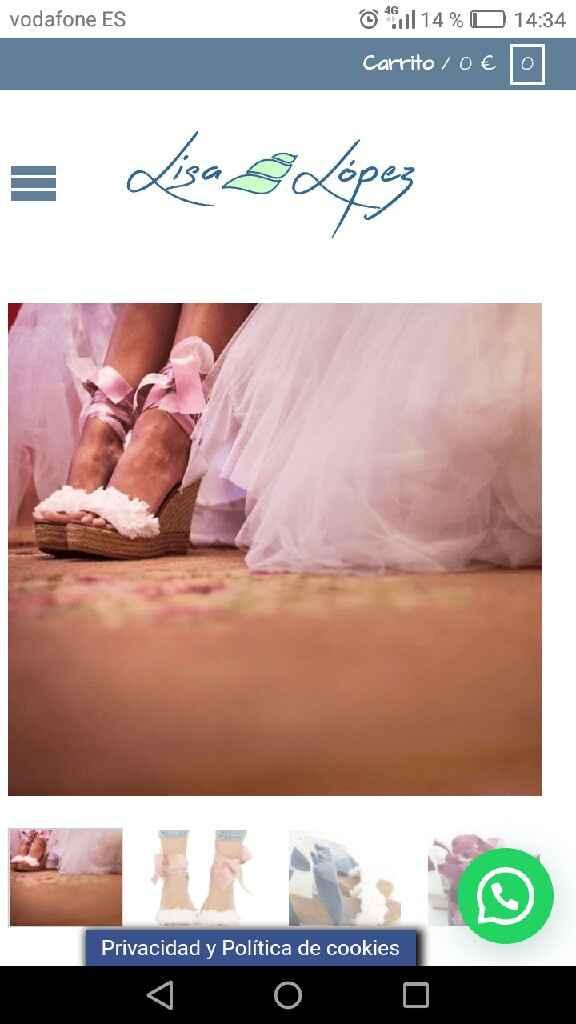 ¿¿alguien me ayuda?? Zapatos de novia. - 1