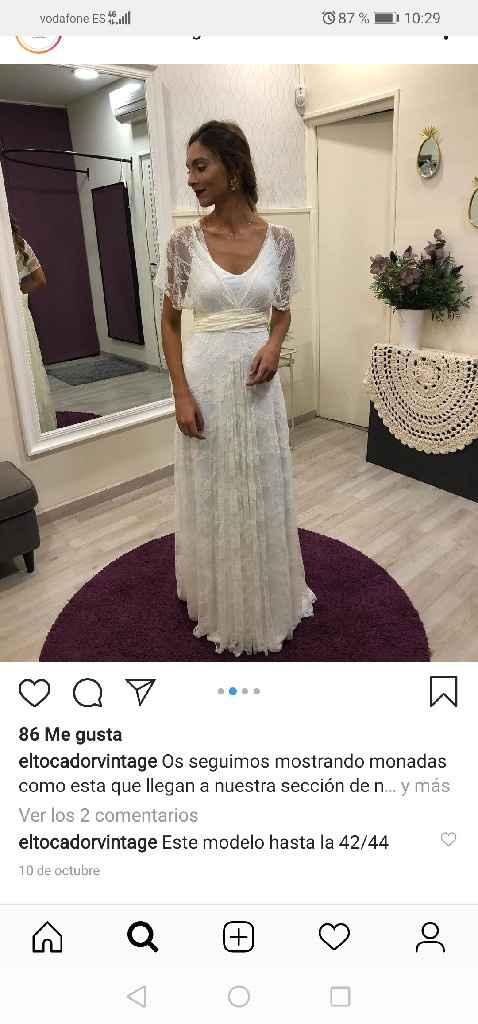 Vestido de novia hecho a mano - 1