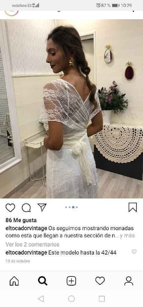 Vestido de novia hecho a mano - 2