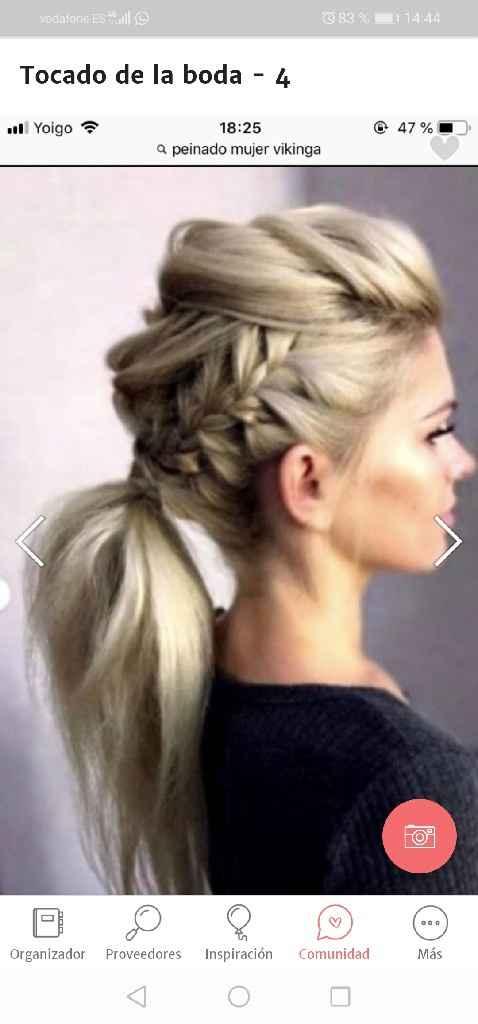 Adorno pelo a juego con colgante e ideas de peinado - 4
