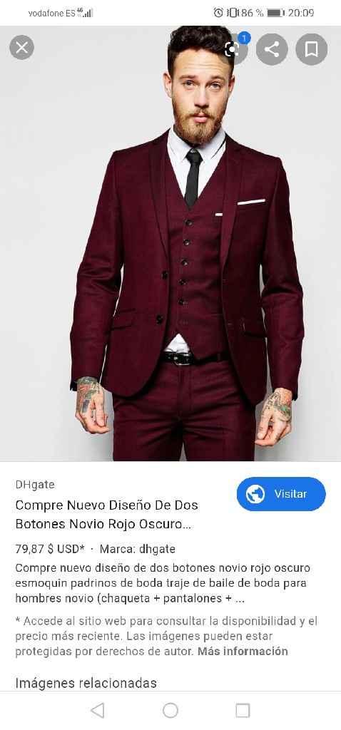 Color del traje del novio - 2