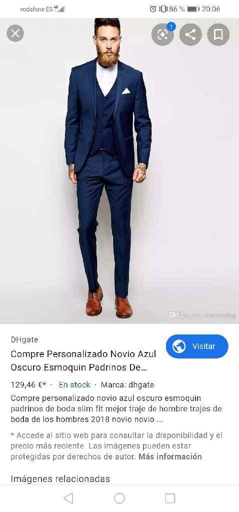 Color del traje del novio - 4