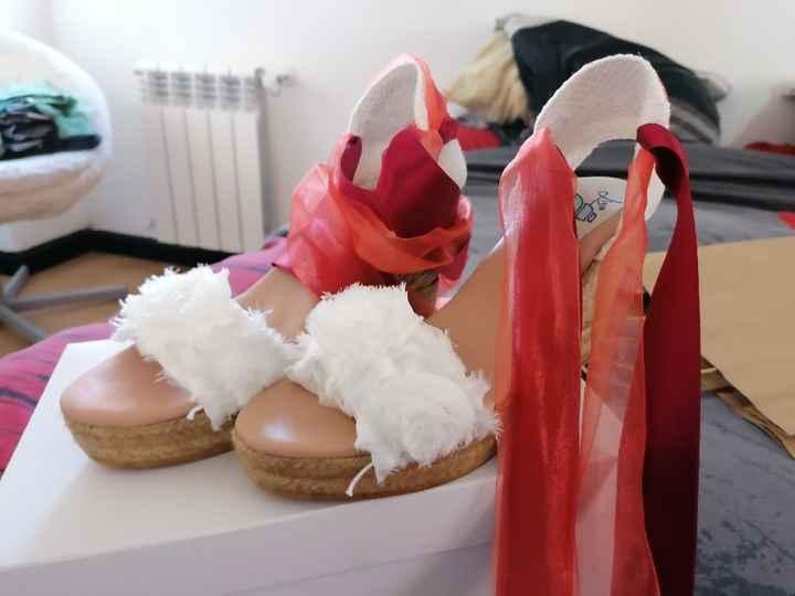 Los zapatos de mi boda!!! También los tengo ❤️ - 1