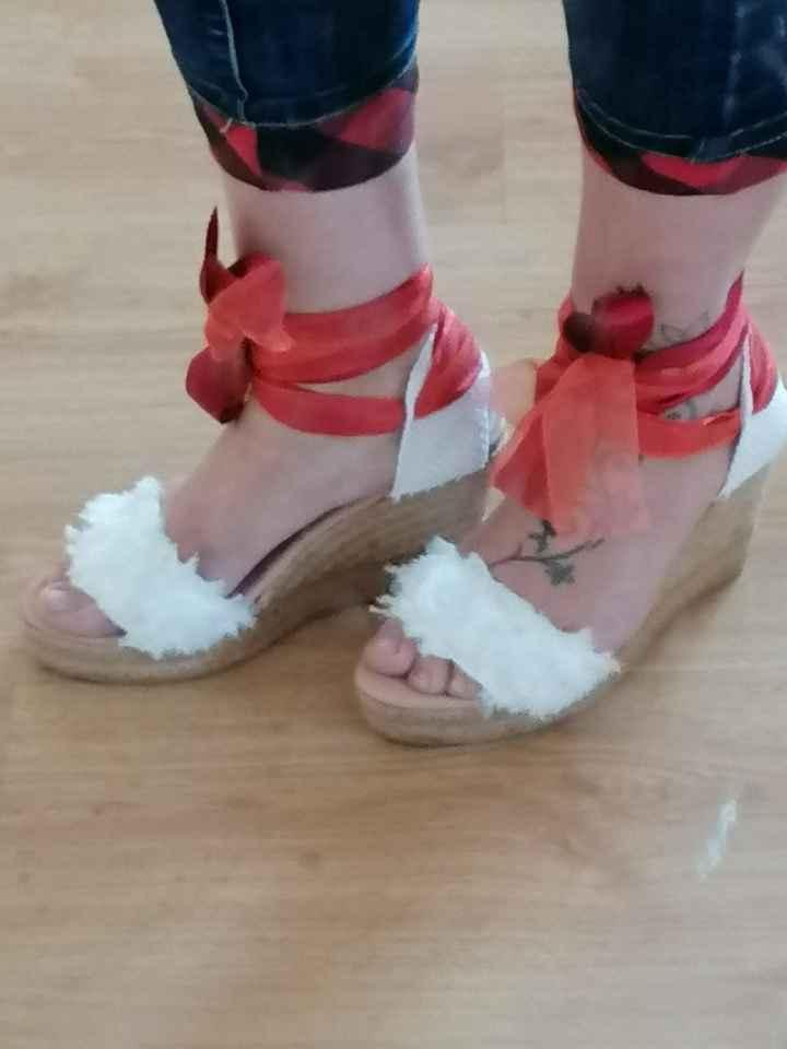 Los zapatos de mi boda!!! También los tengo ❤️ - 2