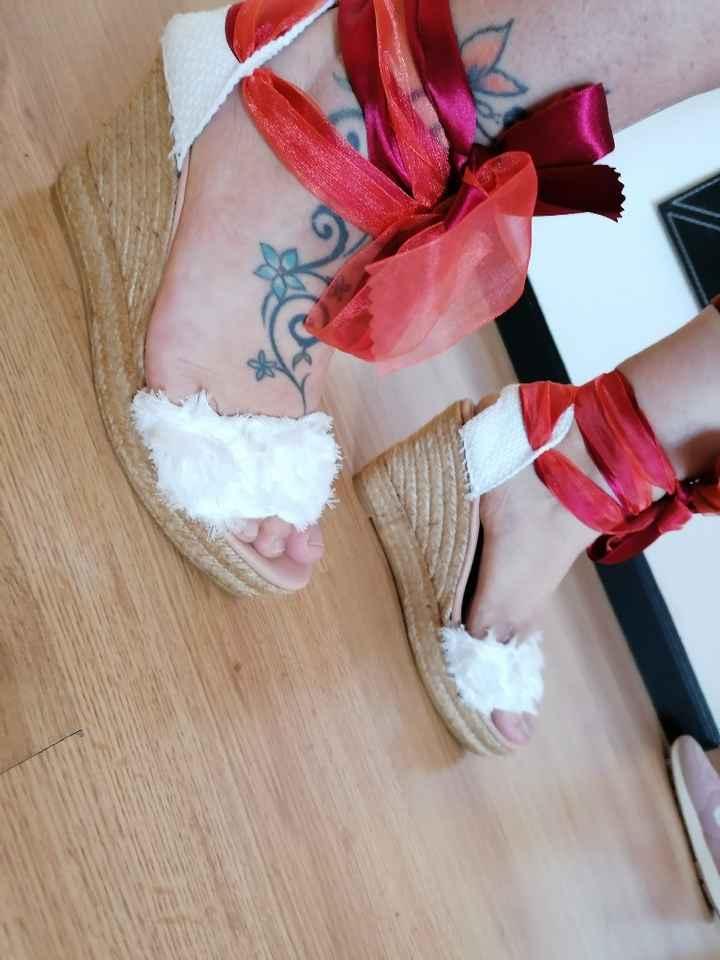 Los zapatos de mi boda!!! También los tengo ❤️ - 3