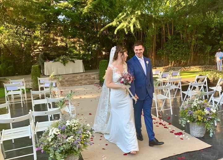 Finalmente casados en los tiempos de Covid!! 11