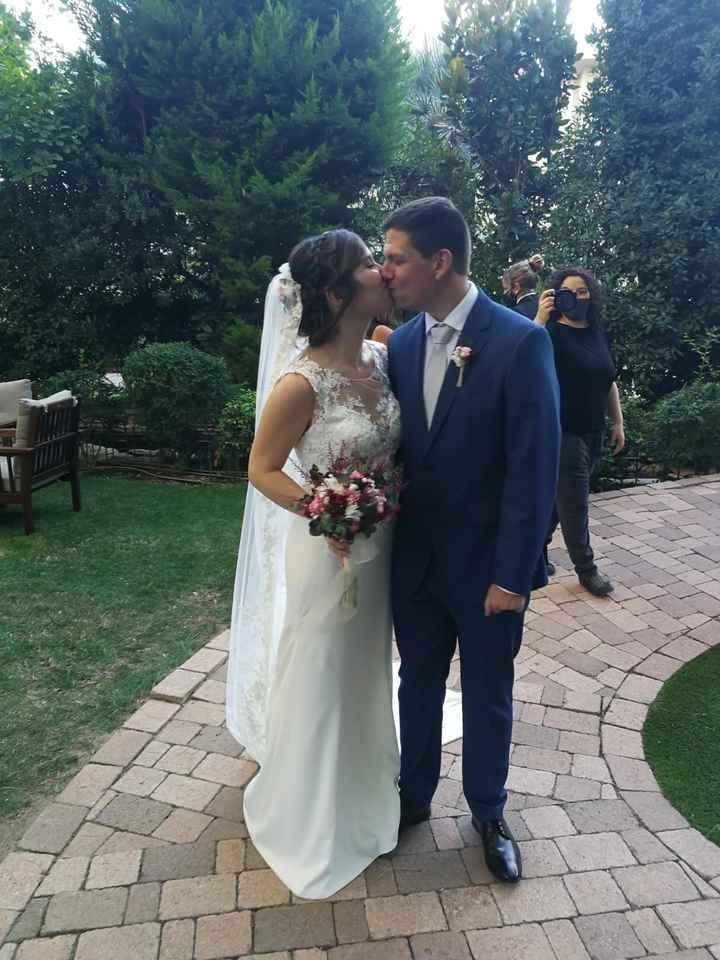 Finalmente casados en los tiempos de Covid!! 12