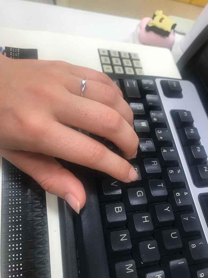 ¿En qué mano llevas el anillo de compromiso? - 1