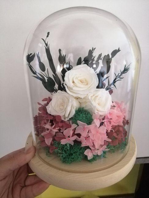 Flores preservadas: dónde he comprado, fotos, etc 22