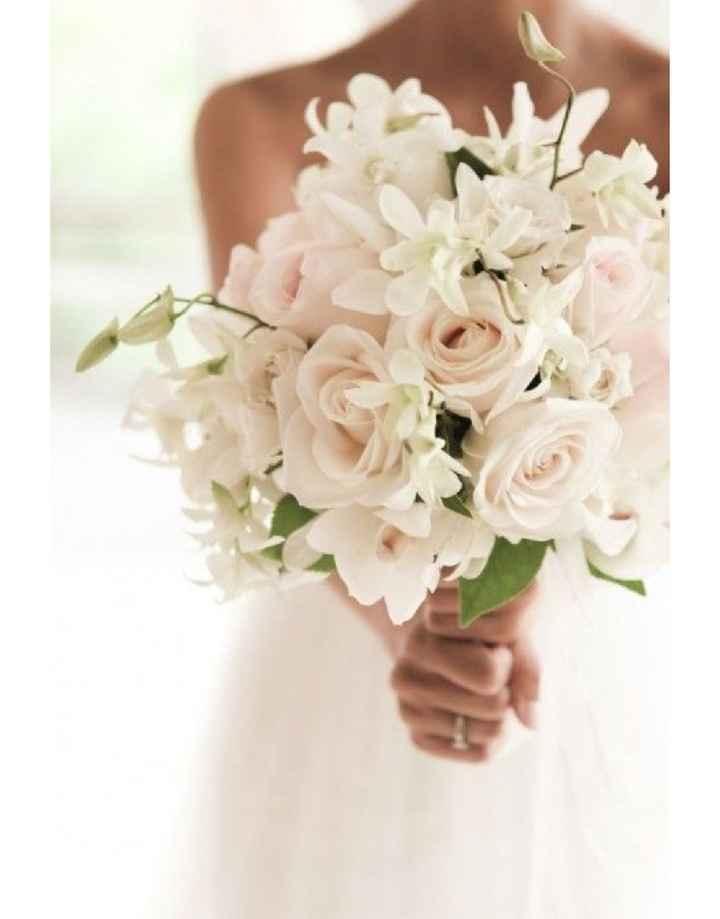 Ramos de novia blancos - 1