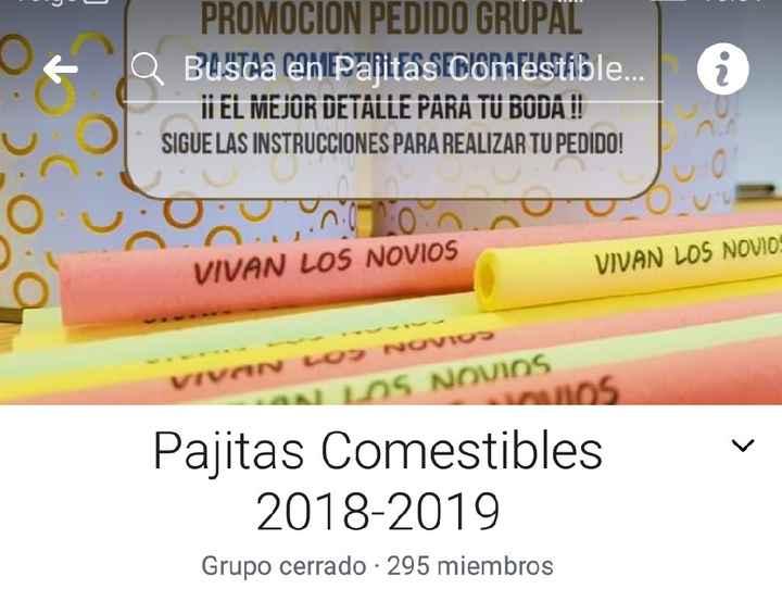 Pajitas comestibles 😋 - 1
