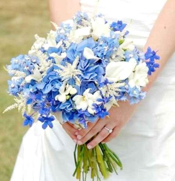 Ramo de novia azul - 1