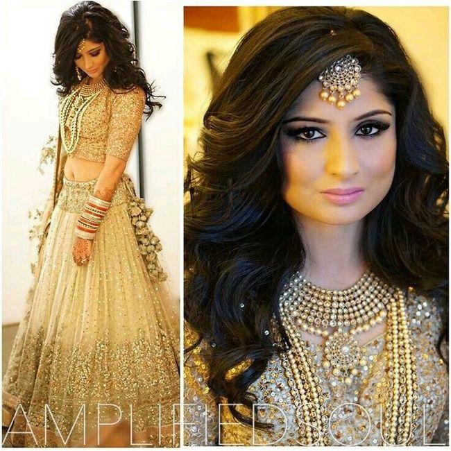 Wedding Hairstyle Indian Bride: Novias De La India