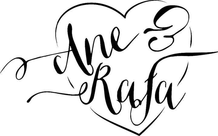 Nuestro logo para la boda