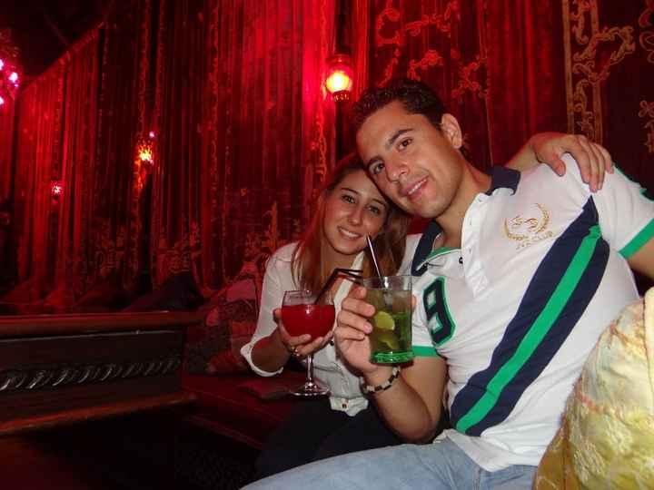Nuestro primer viaje juntos: Mojácar 2012.