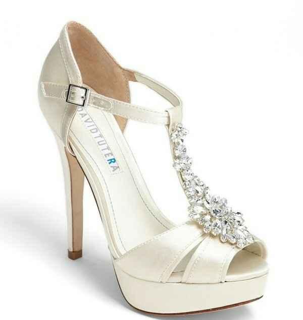 Zapatos david tutera, donde encontrarlos? - 1