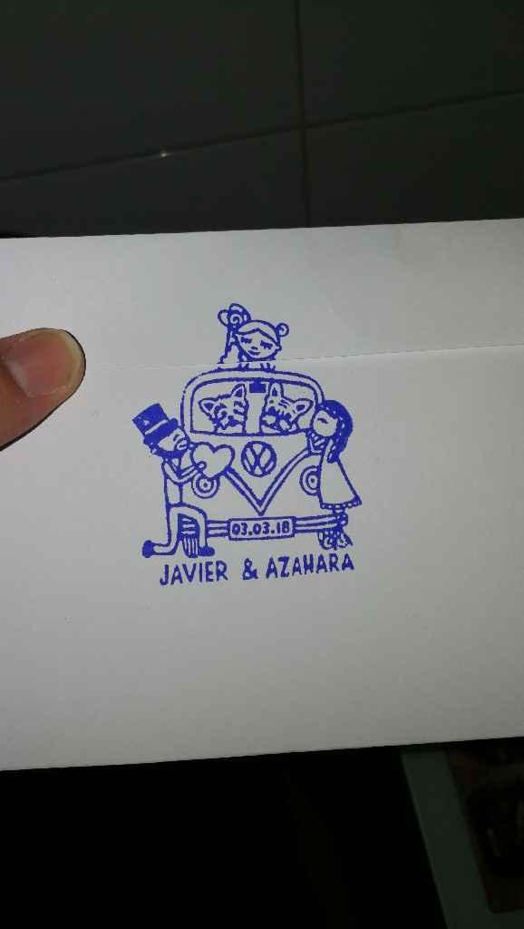 Vuestros sellos de boda - 1