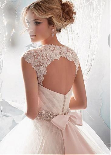 Precios y modelos de vestidos de madeline gardner - Moda nupcial ...