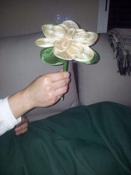Flor de sinamay