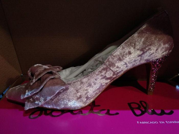 Zapatos de terciopelo 2