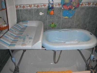 ¿qué es más útil una bañera plegable con cambiador o la bañera sola? 1